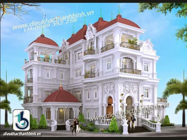 công trình biệt thự quận 12 Đường Đông Bắc của chi Nguyễn Thuỳ Dương