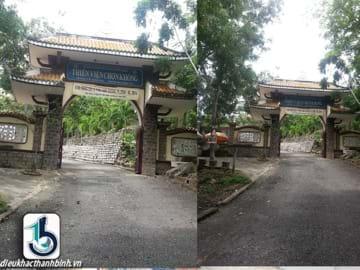 Công trình chùa Thiền Viện Chơn Không - Giáo hội phật giáo Việt Nam - phường 6, TP.Vũng Tàu