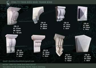 conson  thạch cao-xi măng