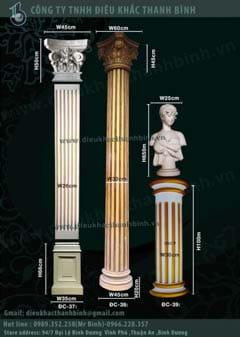 cột trang trí