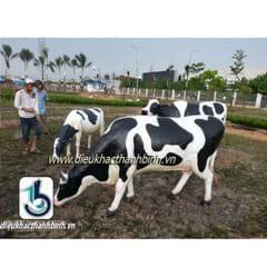 Điêu khắc bò sữa