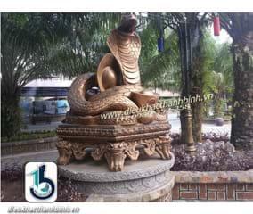 Điêu khắc con rắn
