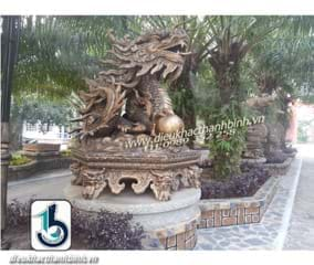 Điêu khắc con rồng-mười hai con giáp
