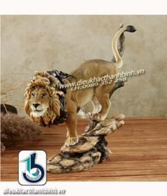 Điêu khắc con sư tử