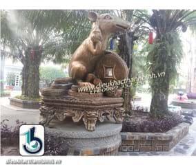 Điêu khắc mười hai con giáp -con chuột