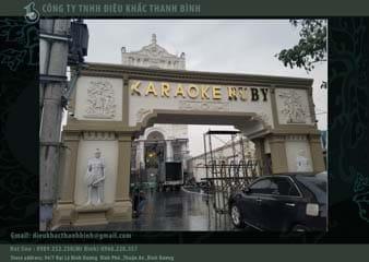 mặt tiền karaoke
