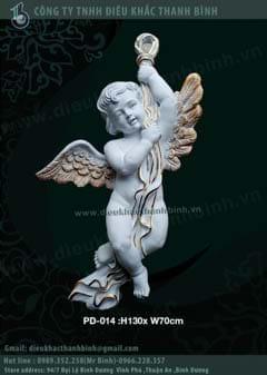phù điêu thiên thần 07