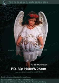 phù điêu thiên thần trang trí