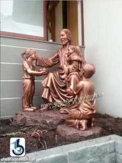 chúa giesu và con trẻ
