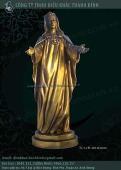Tượng Đức Mẹ hòa bình