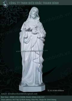 Tượng thánh tâm chúa Giêsu