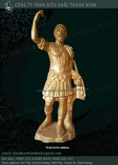 tượng thần  chiến binh hi lạp