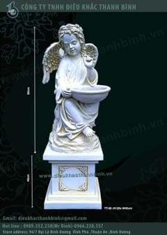 tượng thiên thần 03