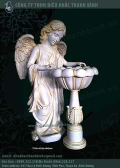 tượng thiên thần trang trí