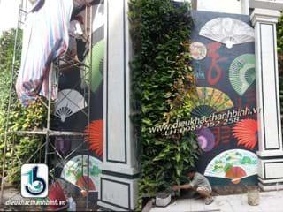 nghệ thuật vẽ tranh tường