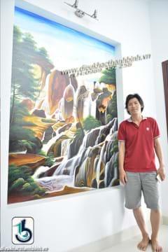 vẽ tranh tường 3