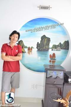 vẽ tranh tường 4